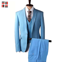 Cheap Top Brand Coat Pant Wedding Men Suit