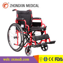 Medical Equipment Manual Economic Steel Wheelchairs with potty (CE/ISO/TUV certified)