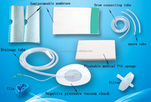 CE Vacuum Suction, wound dressing instrument