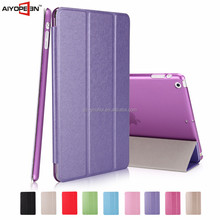 Fashion Silk pattern Design Auto wake up Case for iPad Mini 1 2 3 table case