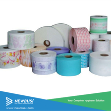 Cheap Price Plastic PE film for diapers making