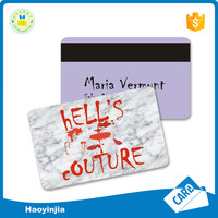 Fast Delivery Blank Card With Magnetic Stripe