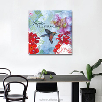 Beautiful Pictures Of Flowers And Animal Birds Diy Oil Painting By Numbers