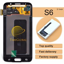 original brand new quality wholesale foxconn mobile for samsung s6 g9200 original lcd(without frame)