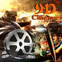 5d motion theater guangzhou motion chair 5d 6d 7d 9D cinema kino equipment give you unforgottable experience
