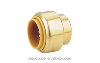 "LB-GutenTop 1/2"" ,3/4"",1"",1-1/2""inch Push-to-Connect Coupling push fit fitting for PEX pipe"