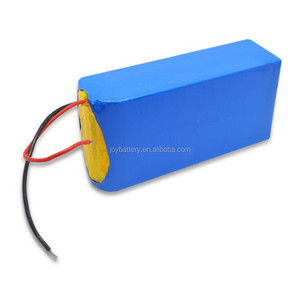 24V 12Ah 18650 7S6P rechargeable lithium ion battery with BMS for electric golf trolley