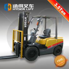 Good quality 3.5 ton diesel forklift truck specification