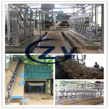 China saving stainless steel 304 cassava fufu /flour /gari processing machine