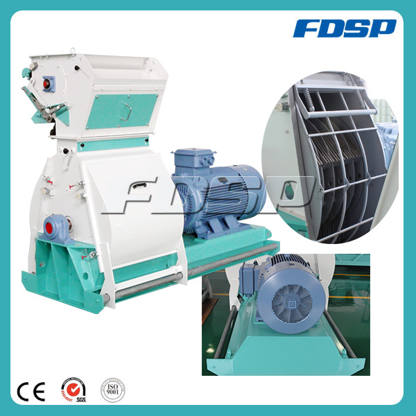 Easy maintenance for operator quick set up tear circle series hammer mill