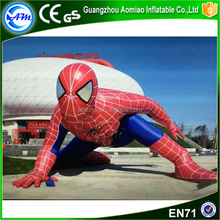guangzhou manufacturers giant inflatable spiderman inflatable model