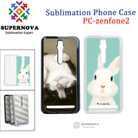 Subliamtion Blank Smart Phone Case Cover, Customized Plastic Mobile Phone Case for Zenfone2