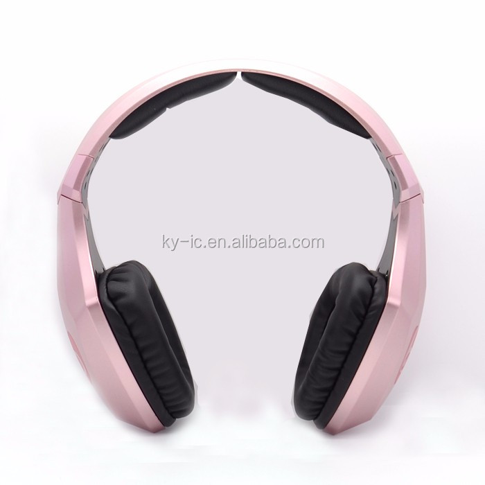 Wholesale Cheap Bass Headband Headset LED Bluetooth Headphones