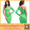 2014 New Wholesale Sexy Cheap One Shoulder Bandage Dress