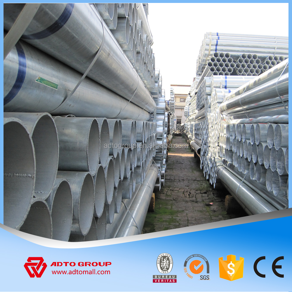 ASTM A53 Pre-galvanized steel pipe | Hot dipped galvanized steel pipe