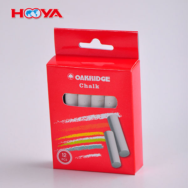 Factory whole sale 12 pcs Cheap White Chalk made in China