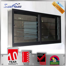 Laudable adjustable blinds cheap aluminium louver window with 30-40 years lifespan