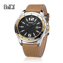 Unisex Brand Watches Military Amry Watch Men Water Resistant 30m Genuine Leather Strap Men Watches 2014 HOT SALES