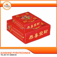 Sunshine lound celebration all red fire crackers wholesale firecrackers