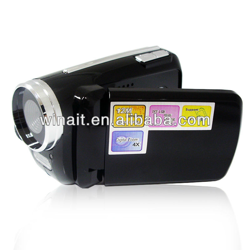 "Mini Camcorder 12MP Digital Video Camera with 1.8"" TFT LCD Flash"
