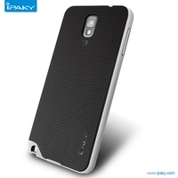 Wholesale Original IPAKY Neo Hybrid Armor Case for Sam note 3 Silicone Back Cover PC Frame Case for Galaxy N9000
