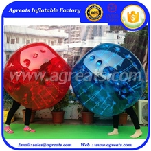 Full red loopy ball inflatable bumper balls with top quality GB7022
