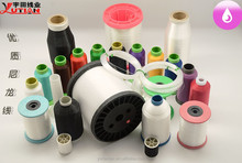Polyester 120D/2 Bright Color filament embroidery thread for multi head embroidery machine