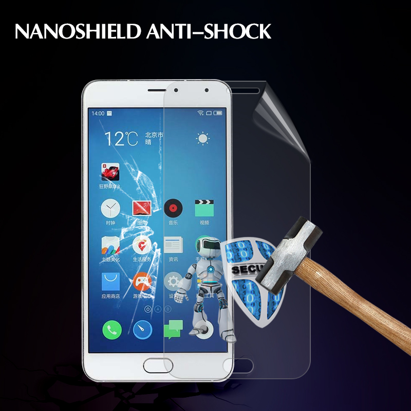 import TPU Nano tec anti-shatter screen film for Meizu m1 metal No bubbles