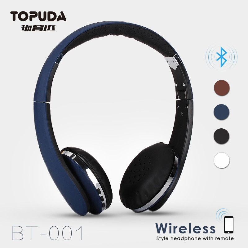 Factory in Guangzhou with microphone and volume control Bluetooth headphones wireless stereo headset