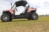 China four wheel off road electric start 4wd utv 200cc