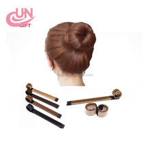 Hair Accessories Synthetic Wig Donuts Bud Head Band Ball French Twist Magic DIY Tool Bun Maker Sweet French