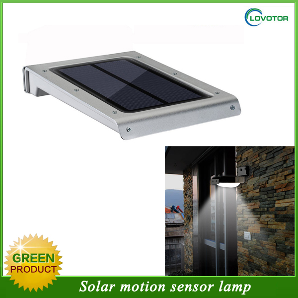 Solar power 2W led garden lights with motion sensor