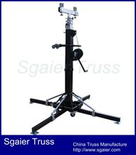 6m lift stand lifting tower truss lift tower heavy duty crank stand