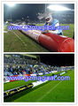 Inflatable sport barrier/inflatable long tube