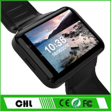 Ce Rohs Video Call Watch Phone Dm98 Android 4.4 Mtk 6572 2.2'' Ips Touch Screen 3G Wifi Android China Watch Phone
