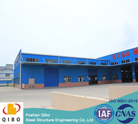 Low Cost Fast Build Prefabricated Steel Structure Warehouse Steel Parking Structure for Sale