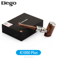 Elego wholesale New design bigger vapor 510 kit kamry k1000 plus with wooden material