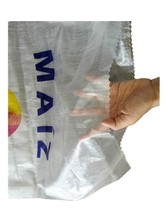South America Guatemala corn/maize storage clear/transparent pp woven bag