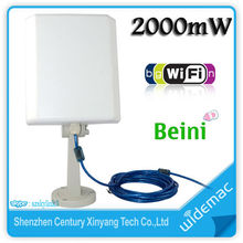 2000mW Outdoor High Power USB Wireless Antenna WiFi Adapter