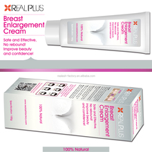 Alibaba best seller breast care item REAL PLUS hot enlarge ladies breast cream