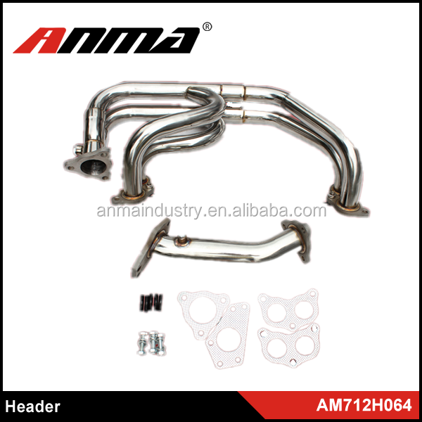Wholesale car exhaust header/complete exhaust systems