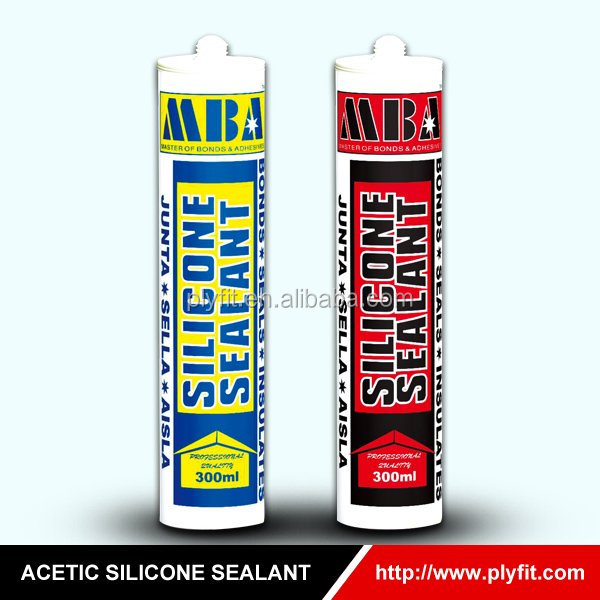 High Quality Non Toxic Building Materials Acetic Silicone Sealant
