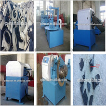Hot sale Waste Tire crushing machine / Scrap Tire cutting equipment / Used Tire Shredding Plant