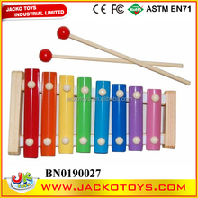 Kids wooden toy musical instrument toy organ