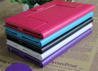 New Protector PU Leather Stand Cover For Android Universal 7 inch Tablet Case With Card Slots
