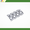 push button embossing led membrane switch