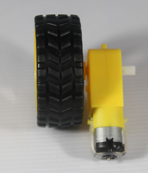 Smart Car Robot Plastic Tire Wheel + DC 3-<strong>12V</strong> Gear <strong>Motor</strong>