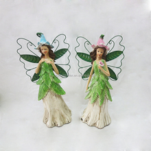 decorative polyresin small fairy figurines wholesale