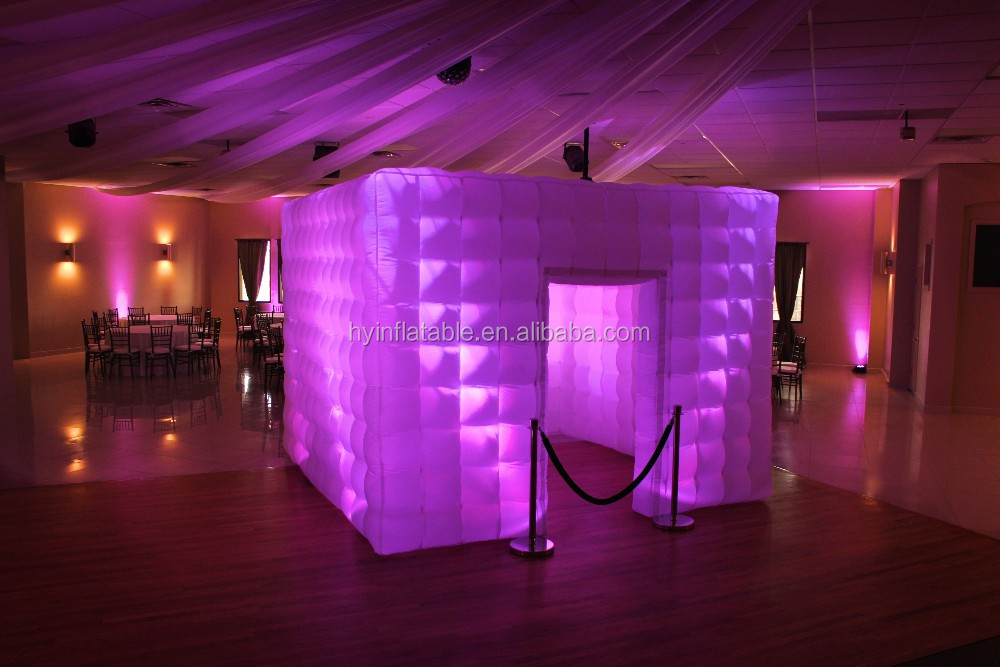 2016 Inflatable portable camera LED light photo booth for sale
