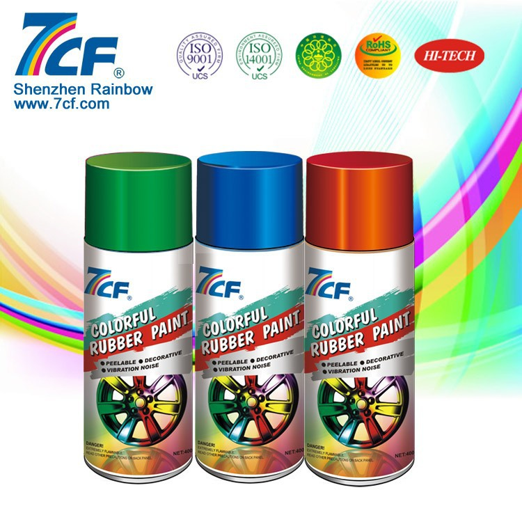 Silicone Plastic Dip Spray Rubber Paint Dip Car